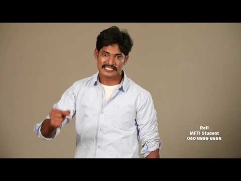 Actor Rafi | Audition Practicals | Film Institute Students | Acting Course in Hyderabad