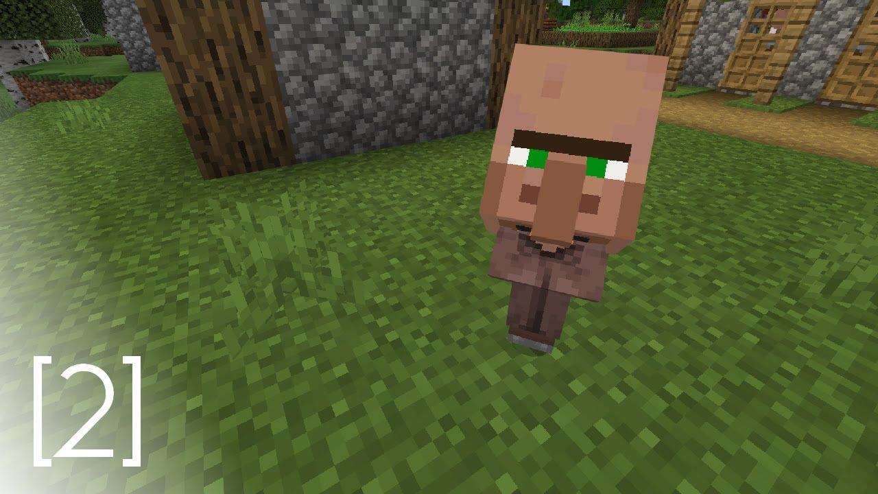 Minecraft - Big Headed Baby Villager [11] - YouTube