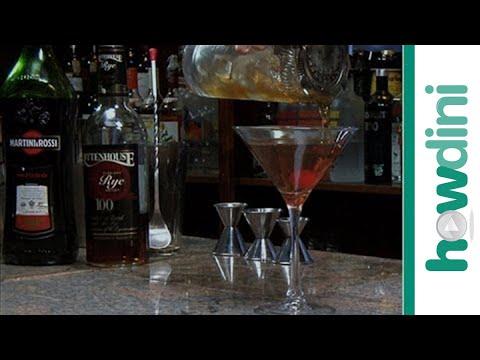 How to make a classic Manhattan cocktail без регистрации и смс