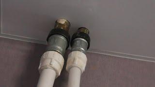 обход сложных труб в натяжных потолках | правильный обход труб натяжные потолки