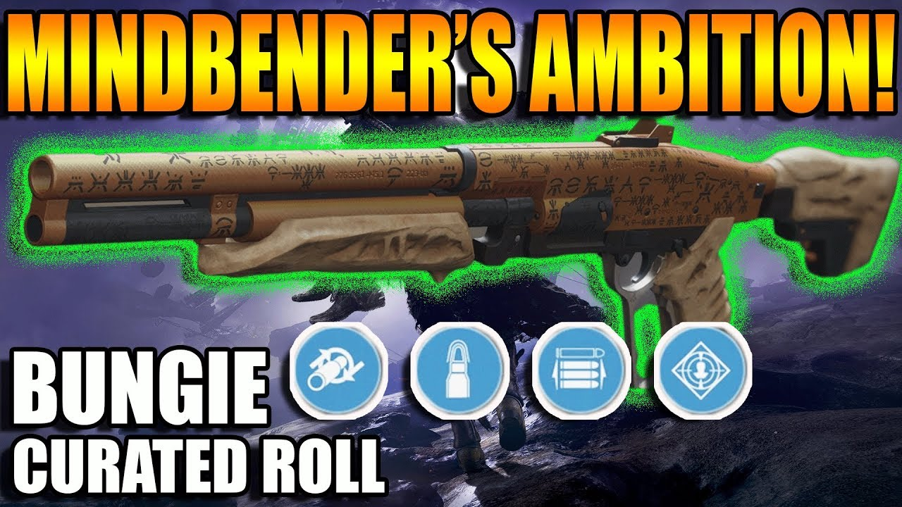 Destiny 2 | Mindbender's Ambition Shotgun Bungie Curated Roll PvP Gameplay  Review | Forsaken DLC