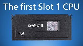 Pentium II 233 The First Slot 1 Processor