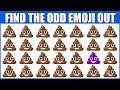 HOW GOOD ARE YOUR EYES #47 l Find The Odd Emoji Out l Emoji Puzzle Quiz