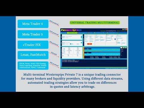Liquidity Providers Forex Arbitrage FIX API Trading Platform