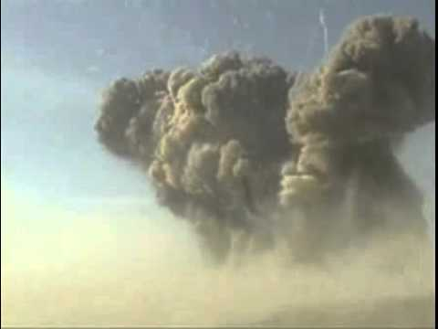 Huge Explosion of 100 tons in Iraq