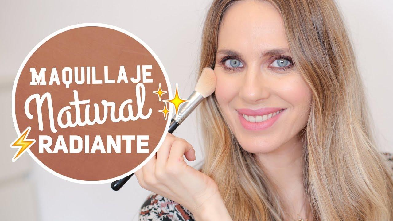 Maquillaje natural radiante - Vanesa Romero TV