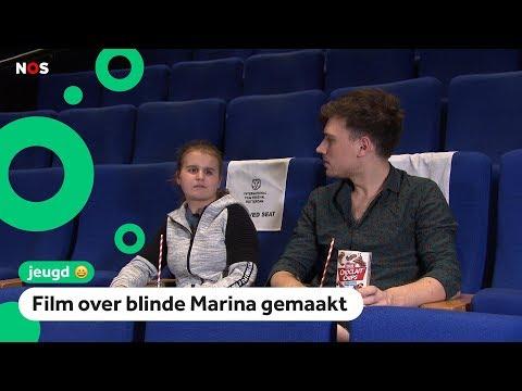 Marina is blind én kan paardrijden en vloggen
