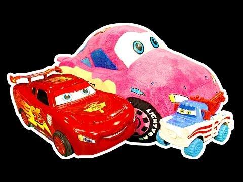 Cars 2 Lightning McQueen Dark Side Knock Off Toys Ep1 Car Wrecking Smashing Crashing Trashing