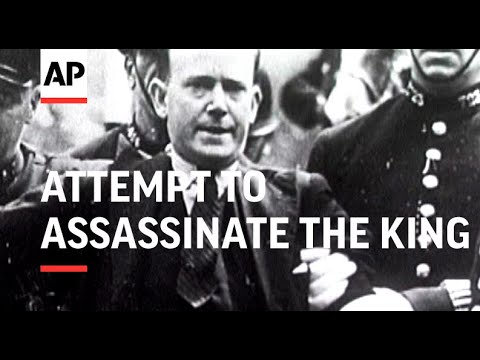 Assassination attempt on King Edward VIII in 1936