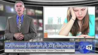 Optometrists describe effects of 3D viewing on eye health