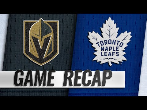 Brown, Andersen lift Leafs past Golden Knights