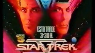 Anuncio de T5 Star Trek V La frontera final