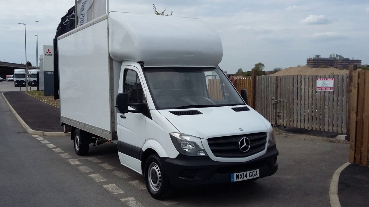 42de2fb18959ba Approved Used Mercedes-Benz Sprinter Luton van - YouTube