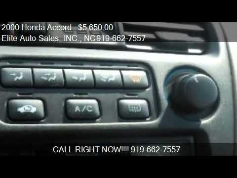 2000 Honda Accord LX sedan - for sale in Raleigh, NC 27603
