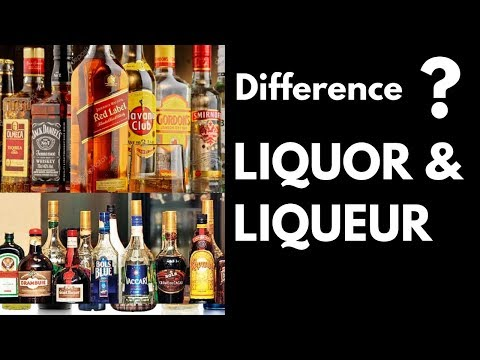 Difference Between Liquor & Liqueurs In Hindi | What is Liquor & Liqueurs | Dada Bartender