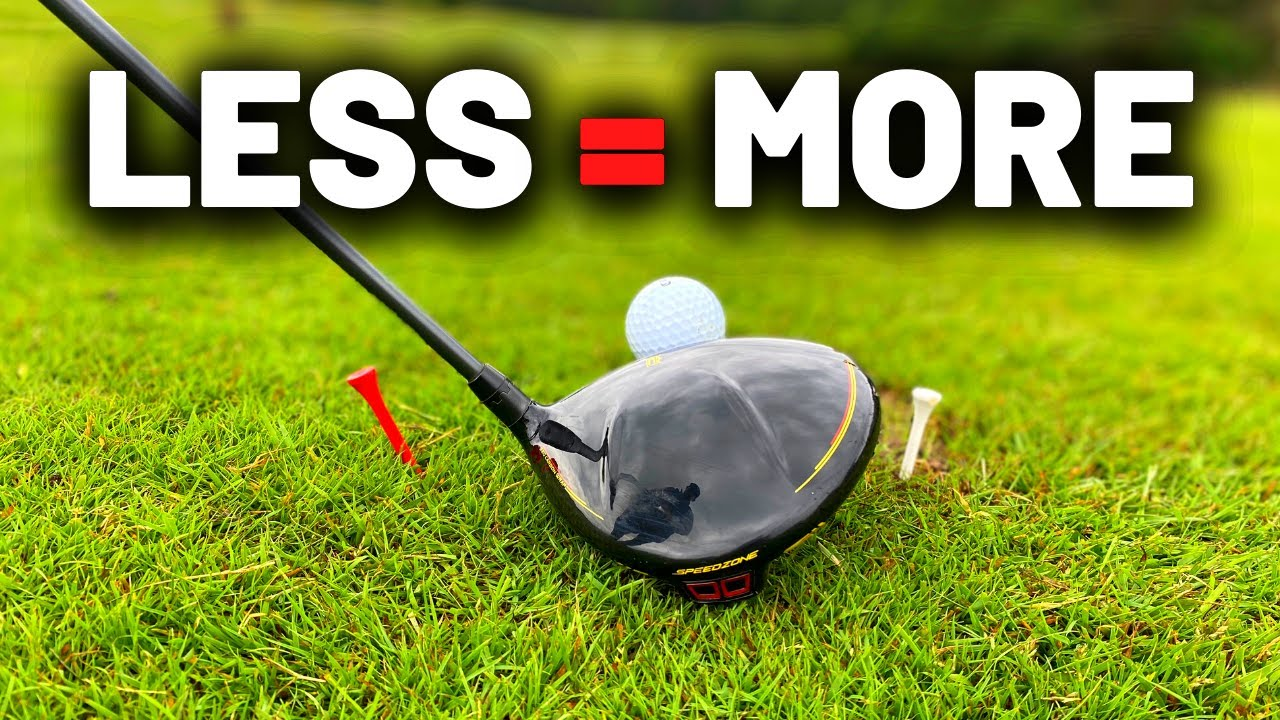 Swing SLOWER but hit the golf ball FURTHER - Every golfer NEEDS this!!