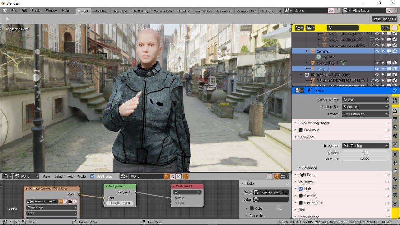 Manuel Bastioni Lab Clothing Assets For Blender 2 8 Beta (Part I Quick  How-to)