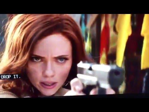 Captain America  Civil War Movie Clip #10  Lagos Fight Scenes scarlett johansson