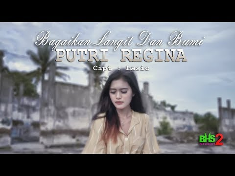 PUTRI REGINA - BAGAIKAN LANGIT DAN BUMI Versi DJ REMIX [ Official Music Video ]