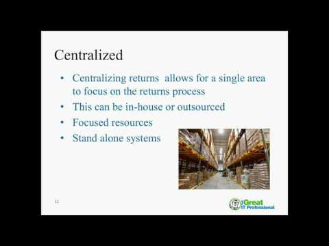 Reverse Logistics Management