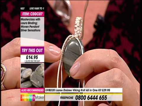 JewelleryMaker Design Master Class 7/10/13 Wire Work Jewellery