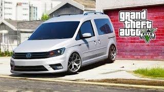 Gta 5 Vw Caddy Modu !! YÜkleme-İnceleme-modİfİye !!