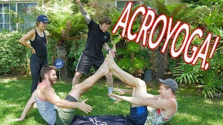 COUPLES YOGA! w/Scotty Sire, Kristen McAtee and Joe Wegner Video