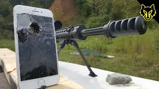 iPhone 7 vs .50 Cal