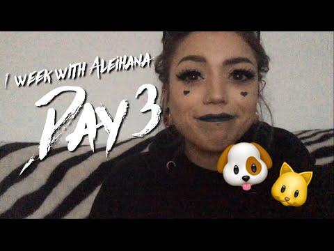 1 WEEK WITH ME Day 3 - GOING TO AN ANIMAL SHELTER - Aleihana Vegan