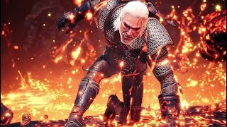 Monster Hunter World x THE WITCHER 3 Collaboration + ICEBORNE Expansion Trailer 2018