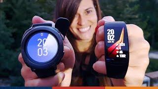 RELOJES DEPORTIVOS SAMSUNG!! | Gear Sport y Fit 2 Pro