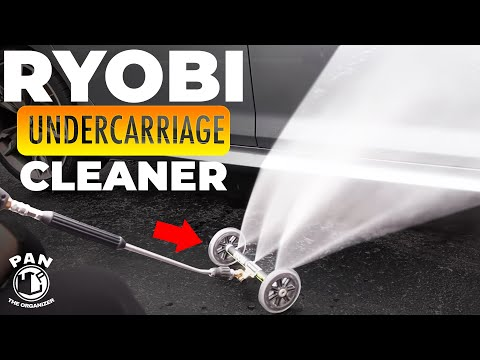 Ryobi Undercarriage Cleaner : Easy To Use !!