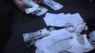 Оперативная съемка задержания за взятку. МВД vs МЧС