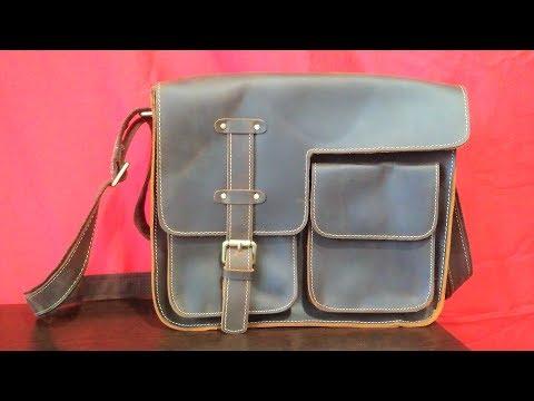 Мужская кожаная сумка на плечо с Алиэкспресс - MVA ZM1050