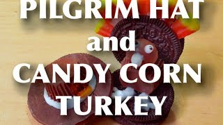 How To Make Thanksgiving  Pilgrim Hats, And Candy Corn Turkey's | Keith And Laura's Kitchen