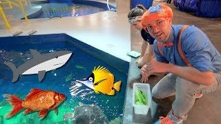 Blippi Visits The Aquarium | E…