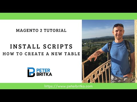 Magento 2  - Install scripts