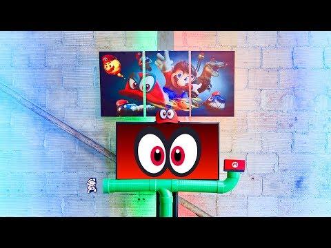 Super Mario Odyssey Nintendo Switch Setup!