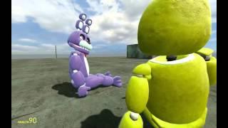 Garry's Mod: Упоротая жизнь аниматроников - #1 (GMod Приколы)