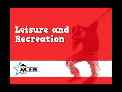 GCSE PE Leisure and Recreation CIE Board