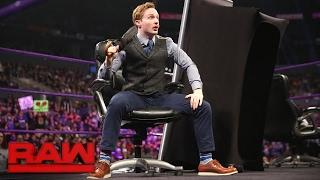 WWE Cruiserweight Championship Contract Signing for WWE Fastlane: Raw, Feb. 20, 2017