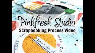 Scrapbooking Process #539 Pinkfresh Studio / Roam