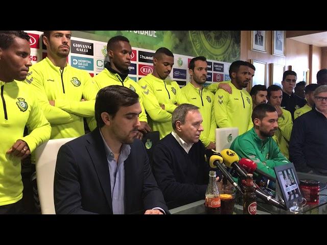6a85efcb7d Futebol português solidário com Nuno Pinto