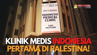Download Lagu Siang Malam Bergegas Menyiapkan INDONESIA MEDICAL CLINIC di Gaza mp3