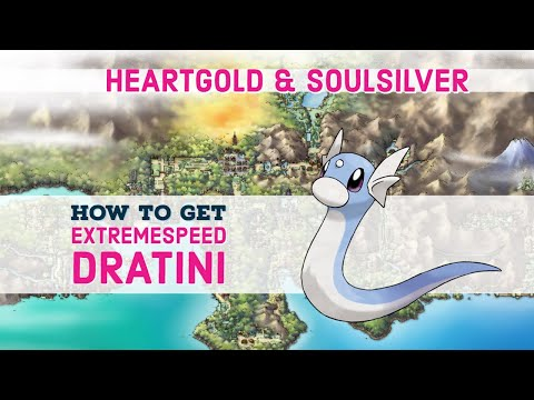 Dragon's Den Guide / ExtremeSpeed Dratini - Pokemon HeartGold & SoulSilver