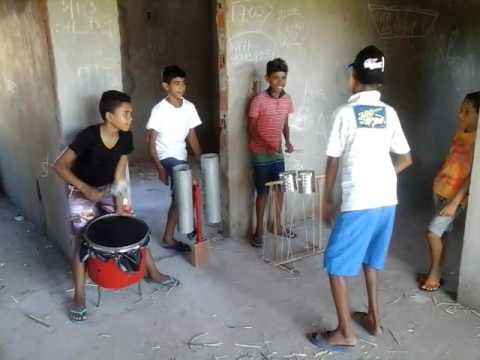 Primeiro ensaio da banda GALERA DO GUETO de ARACI BA thumbnail
