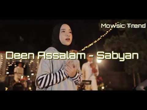 Deen Assalam - Cover Sabyan (Lirik) Top Trending youtube.