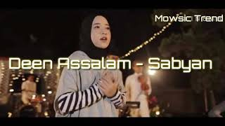 Deen Assalam - Cover Sabyan (Lirik) Top Trending youtube.
