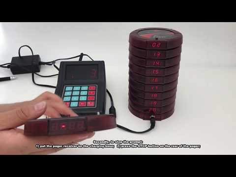 CATEL CTP200 Wireless Restaurant Coaster Pagers/wireless Paging System Manufacturer