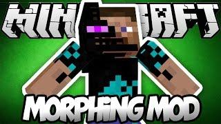 מוד שינוי הצורה | שנו צורה לכל מוב במיינקראפט וקבלו את היכולות שלו! | Minecraft morph mod